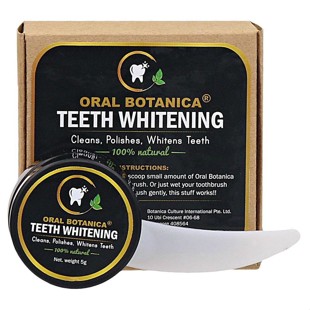 100% Natural Teeth Whitening Paste Activated Coconut Charcoal 5g