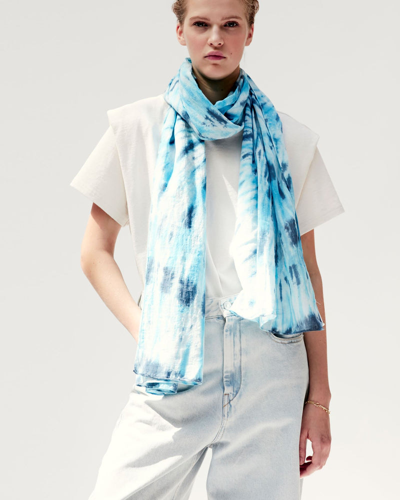 Nassau Scarf in Blue