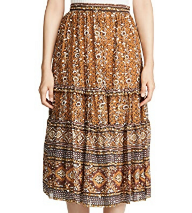 Thea Skirt in Ochre