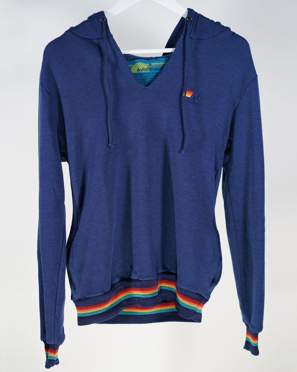 Aviator Nation Poseidon Rainbow Hoody