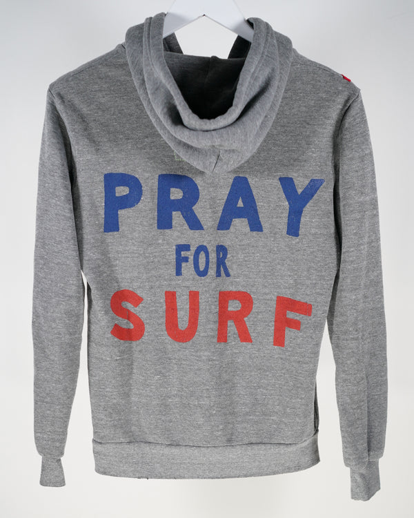 Aviator Nation Pray For Surf Zip Hoody