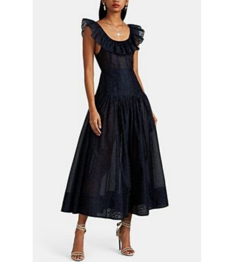 Coretta Dress in Midnight