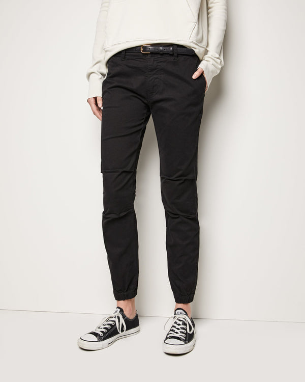 French Military pant in black