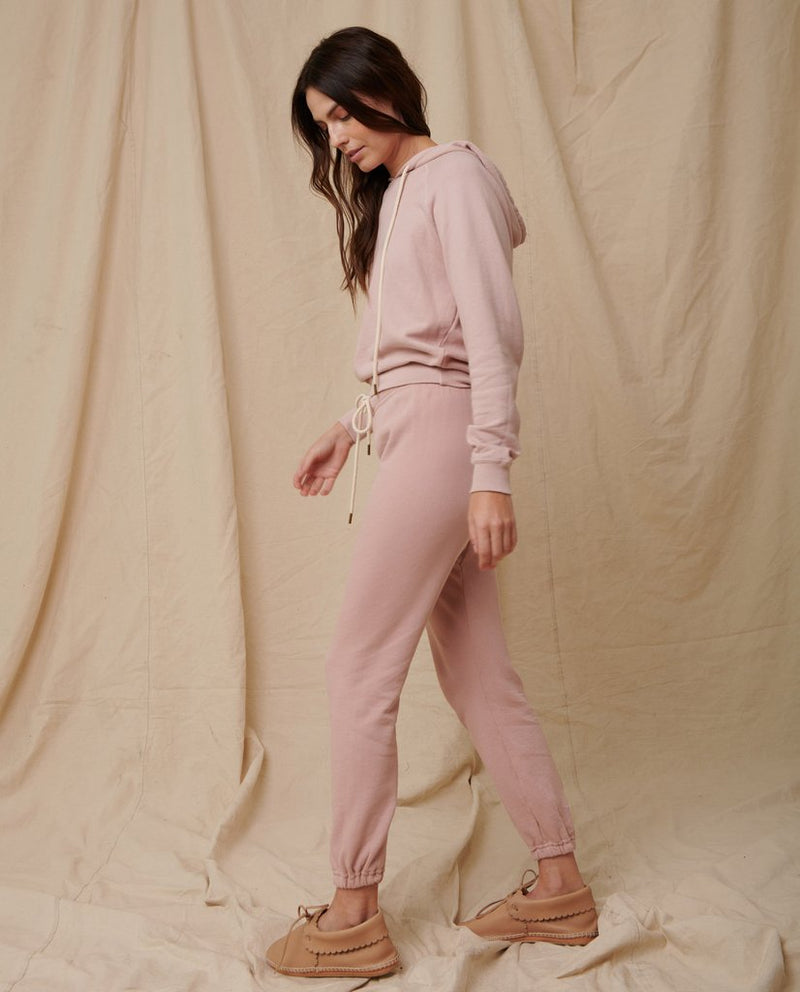 The Stadium Sweatpant in Pink Frost