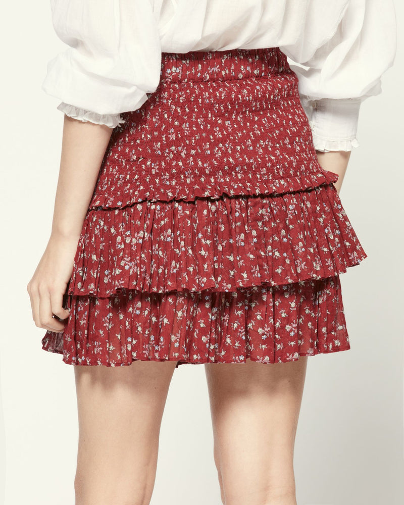 Naomi Skirt in Grenat