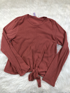Alya Long Sleeve Top Size Large
