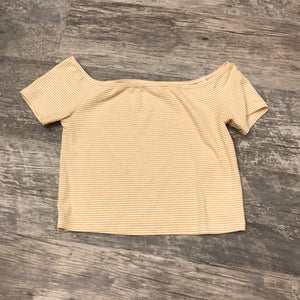 Yellow Short Sleeve // Size Small