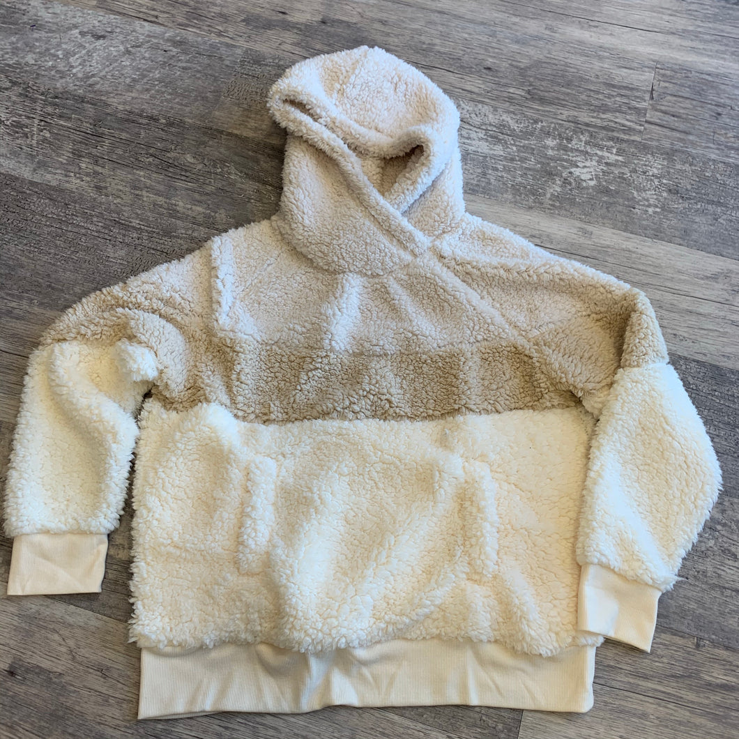 Refresh Sherpa Sweatshirt // Size Large