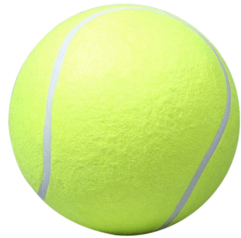 Image of Giant Tennis Ball Dog Toy