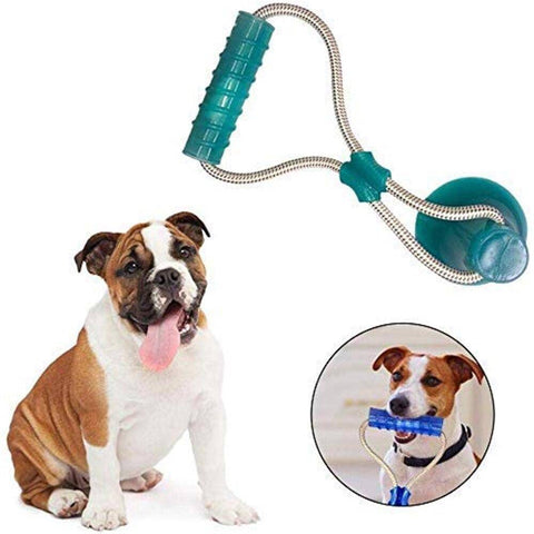 Rubber Stick Mega Tug Suction Dog Toy