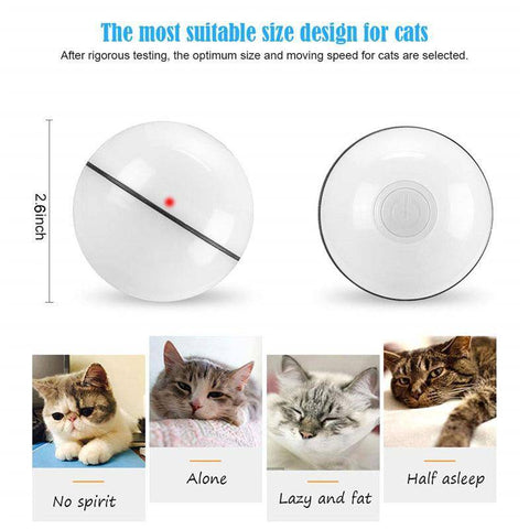 Image of Smart Interactive Cat Toy Ball