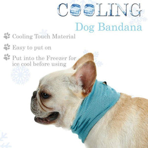 Dog Cooling Bandana Collar