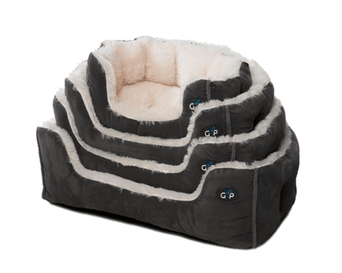 Nordic Calming Fleece Snuggle Bed