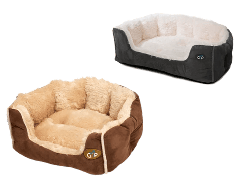 Image of Nordic Calming Fleece Snuggle Bed