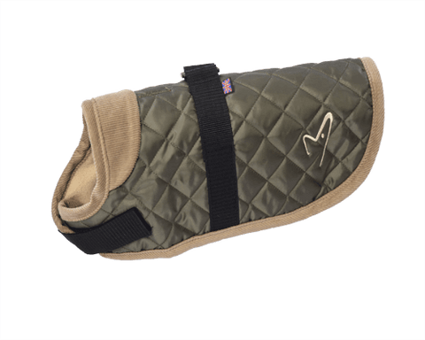 Image of Worcester Quilted Dog Coat