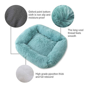 Anti-Anxiety Calming Dog Bed - Square