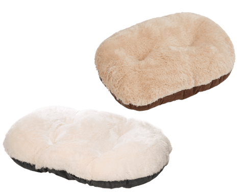 Nordic Oval Fleece Snuggle Cushion