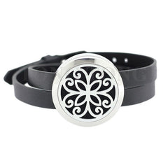 Stainless Steel Essential Oil Diffuser Locket Bracelet
