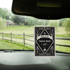Country Roads Rustic 2 Pack Car Air Freshener