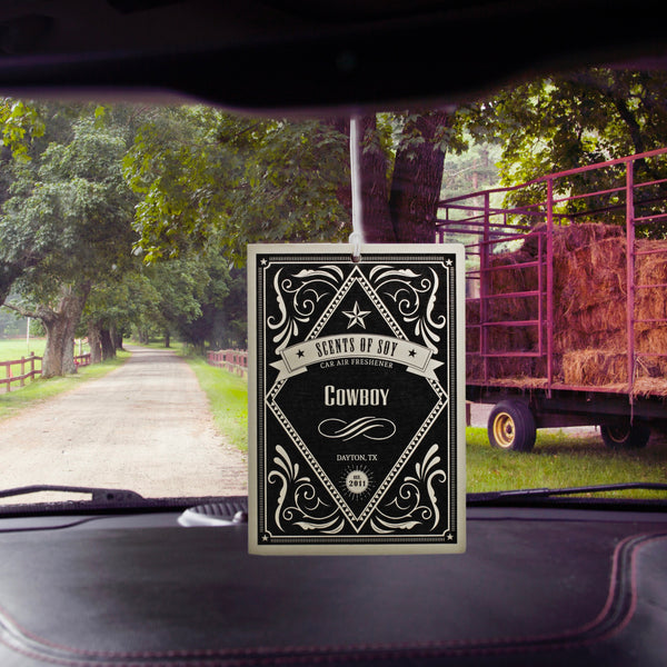 Cowboy Rustic 2 Pack Car Air Freshener