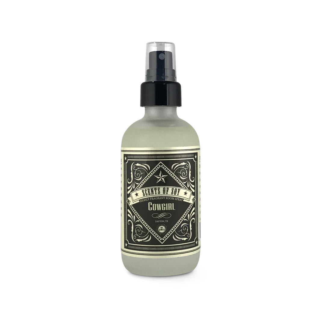 Cowgirl Rustic Room Spray