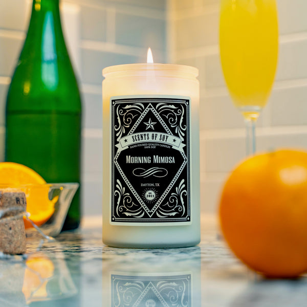 Morning Mimosa Rustic Soy Candle