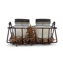 DUETS Candle Set       Leather + Cowboy