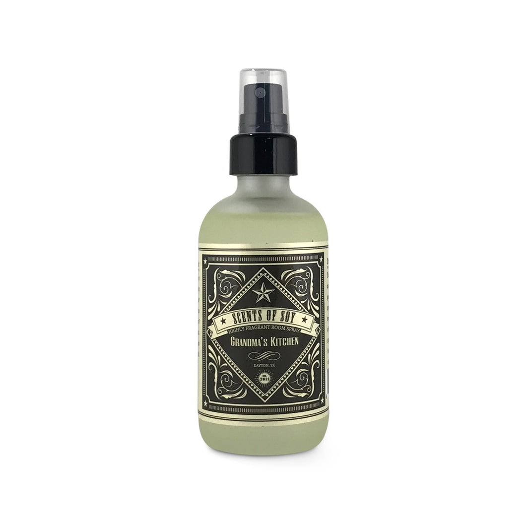 Grandma's Kitchen Rustic Room Spray
