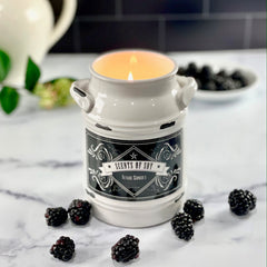 Texas Sunset Milk Jug Soy Candle