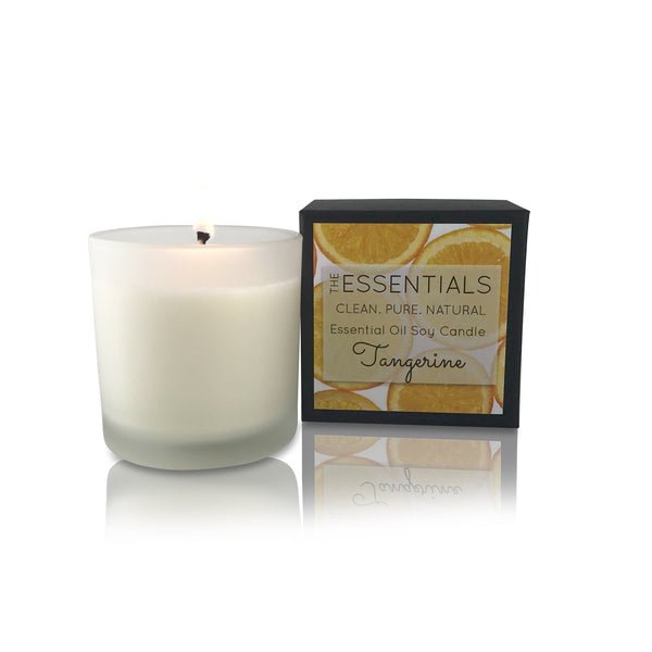 Tangerine Soy Candle