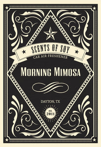Morning Mimosa Rustic 2 Pack Car Air Freshener