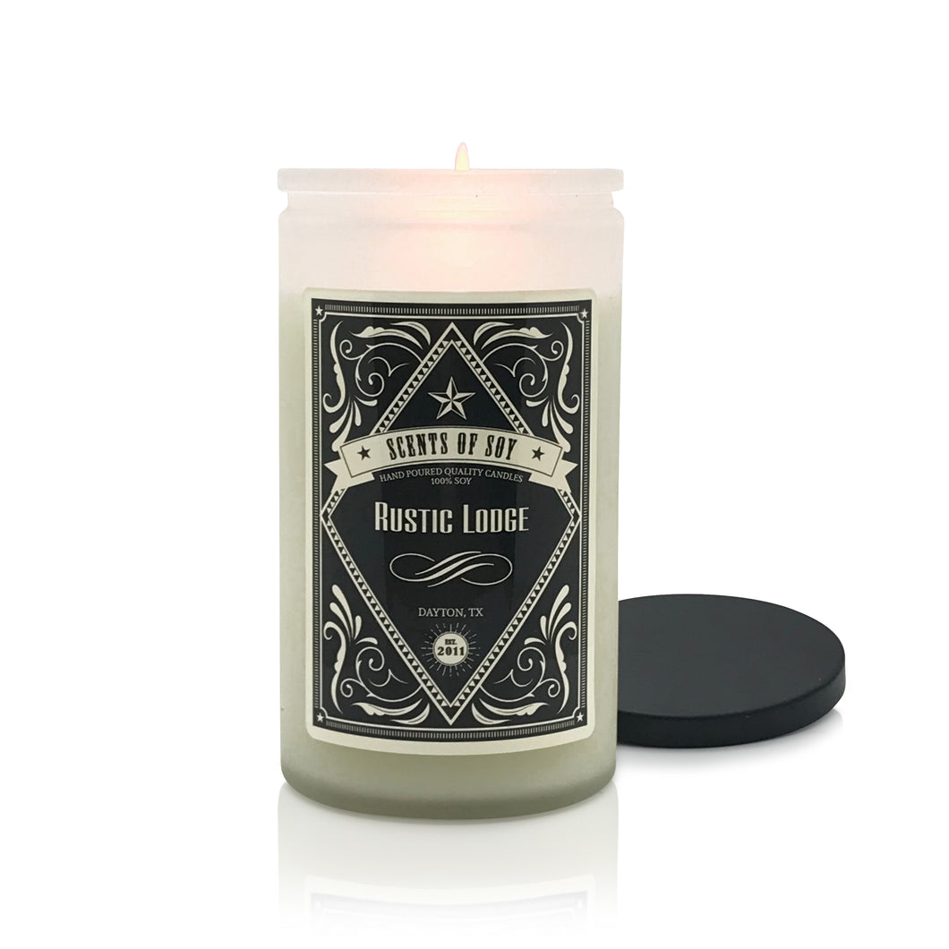 Rustic Lodge Soy Candle