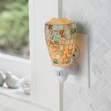 Sea Glass Plug-In Electric Warmer