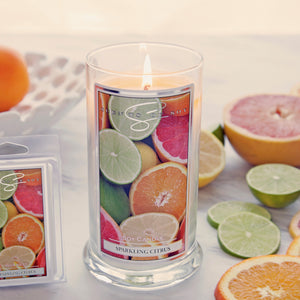 Sparkling Citrus Soy Candle