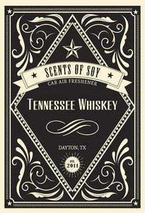 Tennessee Whiskey Rustic 2 Pack Car Air Freshener