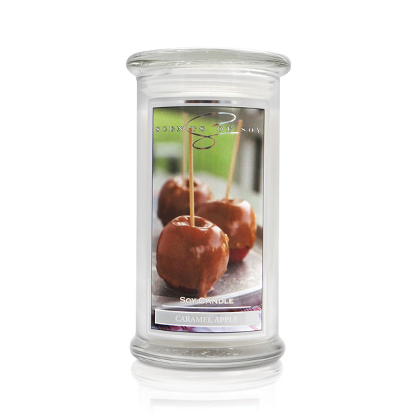 Caramel Apple Soy Candle