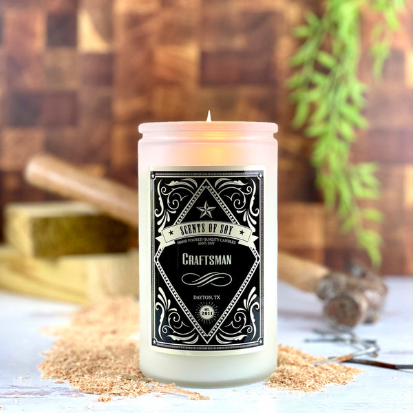 Craftsman Rustic Soy Candle