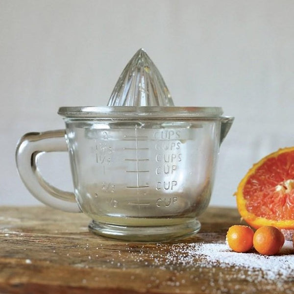 Pressed Glass Juicer