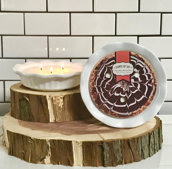 Chocolate Pretzel Pie Soy Candle