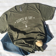 Super Soft Logo Tee Military Green