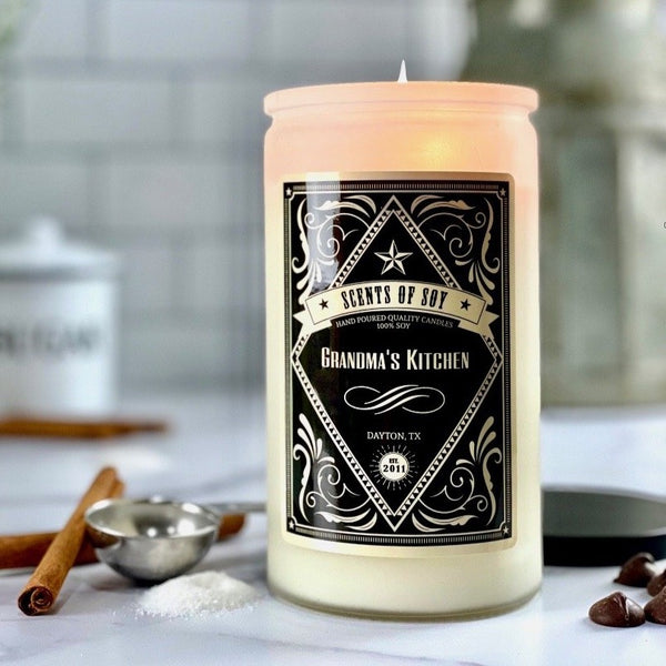 Grandma's Kitchen Rustic Soy Candle