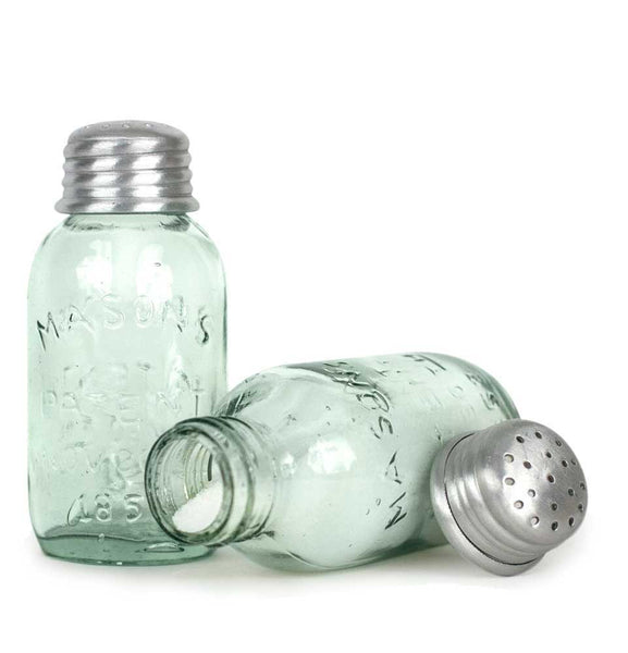 Mason Jar Salt/Pepper Shakers
