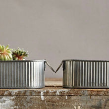 Corrugated Metal Buckets