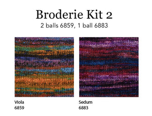 Dizzy Sheep - Berroco Broderie Shawl Kit _Broderie Shawl Kit 2, Drop Ship Item