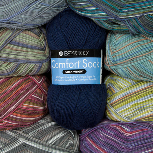Dizzy Sheep - _Berroco Comfort Sock