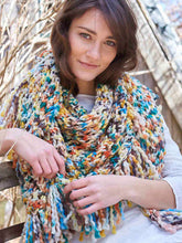 Load image into Gallery viewer, Dizzy Sheep - Berroco Papaverie Shawl Kit _Berroco Papaverie Shawl Kit