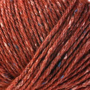 Dizzy Sheep - Berroco Tuscan Tweed _ 9025 Poppy lot 12914