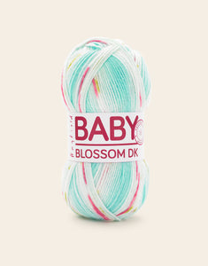 Dizzy Sheep - Hayfield Baby Blossom DK _ 0358, Blooming Blue, Lot: 1704