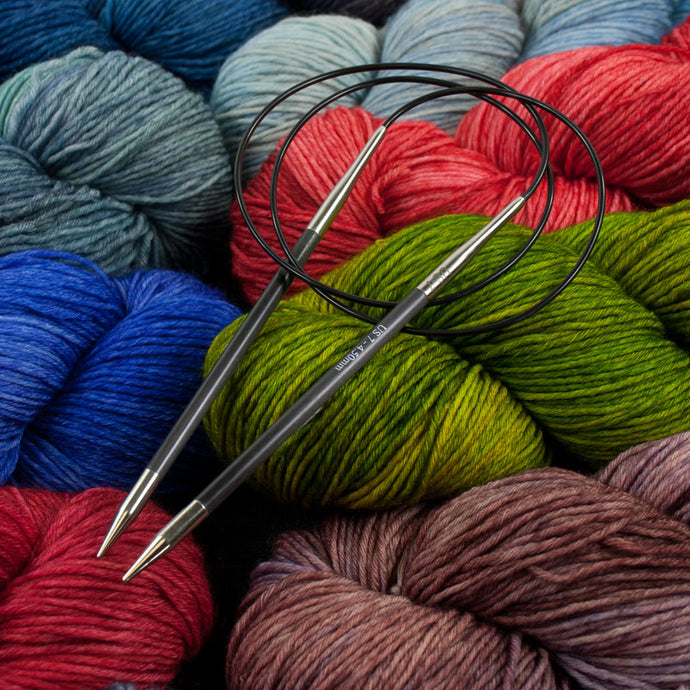 Dizzy Sheep - Knitter's Pride Karbonz Circular Needles