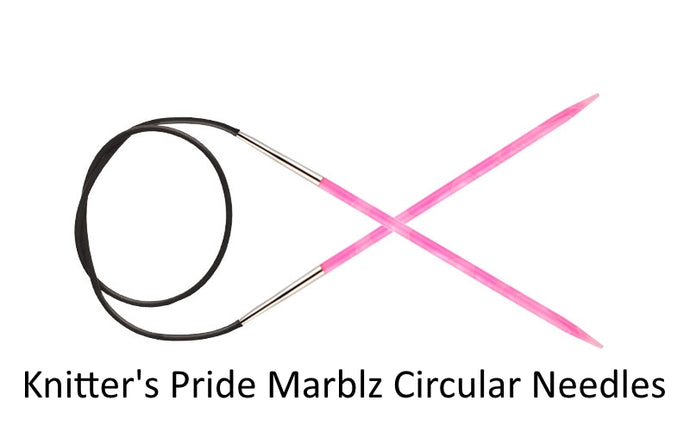 Dizzy Sheep - Knitter's Pride Marblz Circular Needles